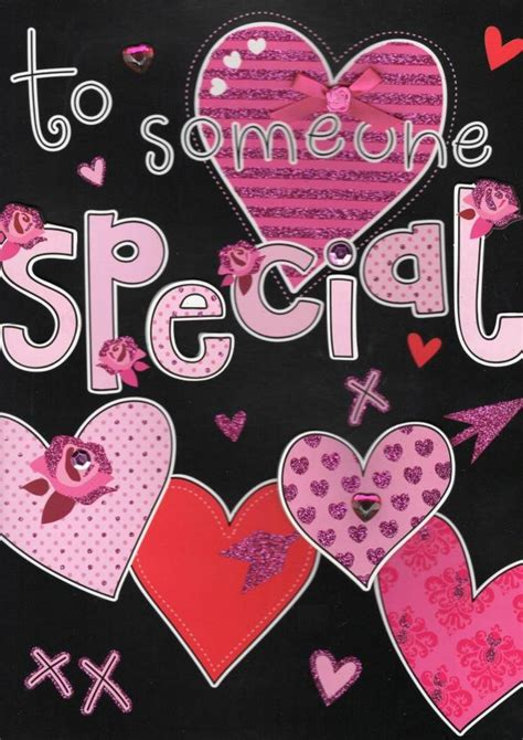big valentines large to someone special s day card cards