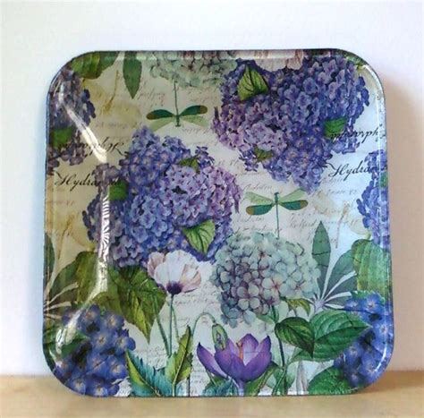 Decoupage Glass Plate - 102 best images about decoupage plate on
