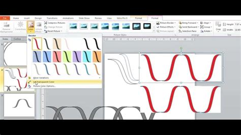 how to doodle in powerpoint draw a dna helix in powerpoint