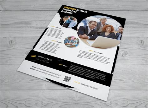 corporate business flyer indesign template arnabkumar