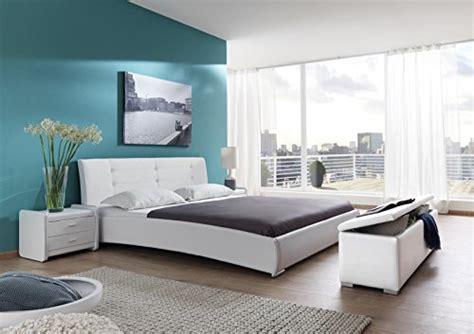 kopfteil einzelbett sam polsterbett 90x200 cm bastia wei pflegeleichtes design