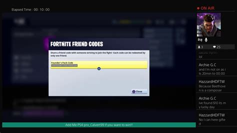 Fortnite Code Giveaway - fortnite 2 free friend codes giveaway happening now youtube
