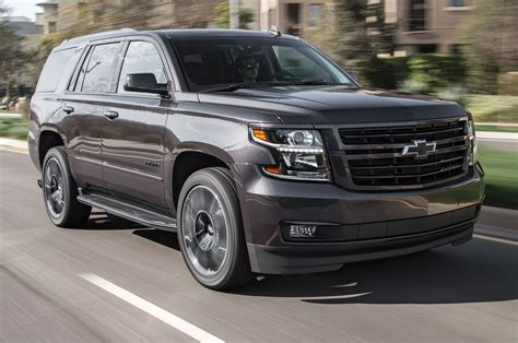 chevrolet tahoe rst performance edition  test