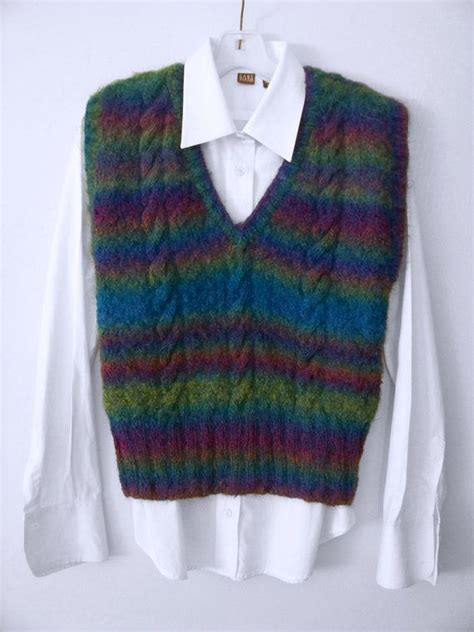 knitting pattern vest top 62 best images about vests knitting and crochet patterns