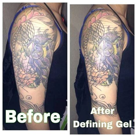 faded tattoos defining gel does wonders on and faded tattoos www