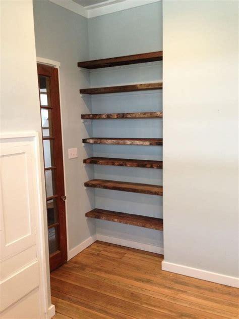 wood closet shelving best 25 wood shelving units ideas on reclaimed wood shelves wood furniture and