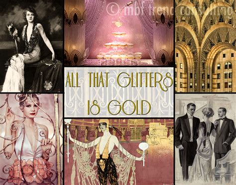 tone and theme of the great gatsby 169 mbf trend consulting 1920 s great gatsby theme board