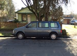 1987 Dodge Caravan Cc Outtake 1987 Dodge Caravan Five Speed Stick