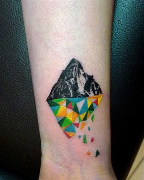 geometric tattoo wrist geometric wrist tattoo wrist tattoos pinterest color