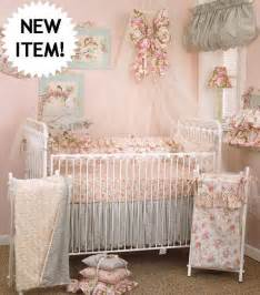 shabby chic tea party baby crib bedding 4 peice set