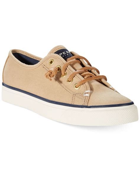sperry sneakers womens sperry top sider sperry s seacoast canvas sneakers
