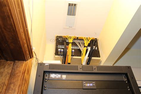 Small Entertainment Cabinet Are Patch Panels Recommended For Home Networks Ars