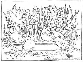 Detailed Landscape Coloring Pages For C Knotes