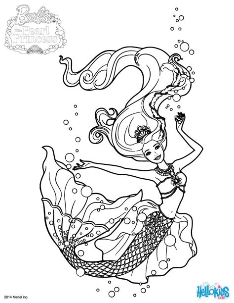 Princess Lumina Coloring Pages Hellokids Com Princess Mermaid Coloring Page Free Coloring Pages