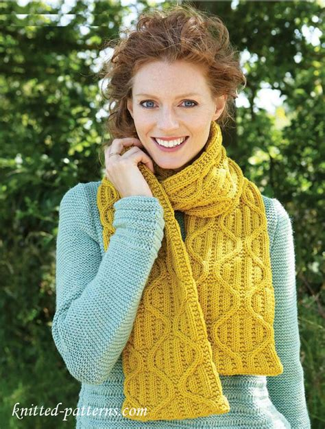 knitting pattern womens scarf women s scarf knitting pattern free