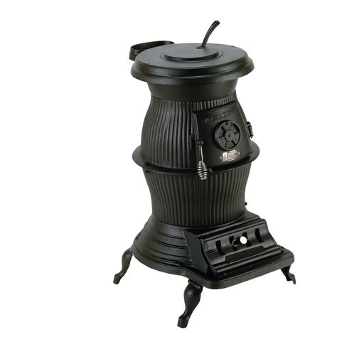 electric pot belly stove fireplace vogelzang railroad 1500 sq ft coal wood burning pot