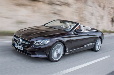 convertible mercedes 2017 2017 mercedes s class cabriolet drive review