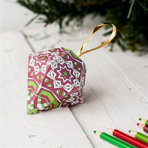 christmas ornament template sarah renae clark