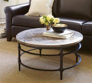 Pottery Barn Coffee Tables Parquet Coffee Table Pottery Barn