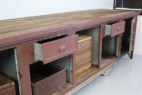 rustic workbench or cabinet for sale at 1stdibs