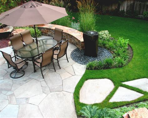 backyard patio ideas stone 10 backyard ideas with landscaping kg landscape management