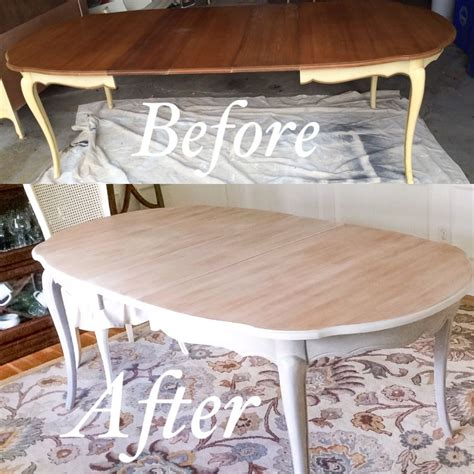 french provincial dining table makeover  chalk paint
