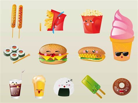 Cute Cartoon Food   Cliparts.co