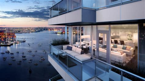 New Home Interior Ideas by New Luxury Condos 50 Liberty In Boston S Waterfront