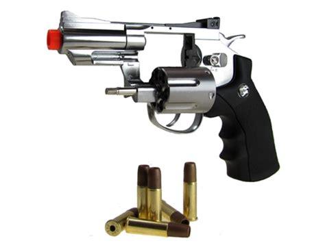 Airsoft Gun Revolver Wingun chrome wingun 708 airsoft revolver wg co2 gun 2 quot snub nose all metal pistol 12 co2 refills free