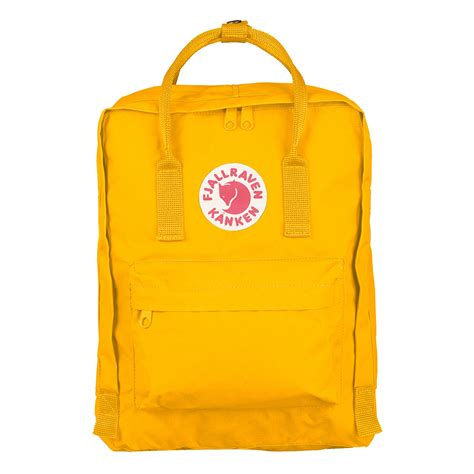 warm yellow fjallraven kanken classic the sporting lodge