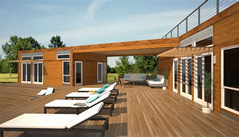 Architecture Have Beautiful Occupancy With Prefabricated Prefabricated Luxury Homes