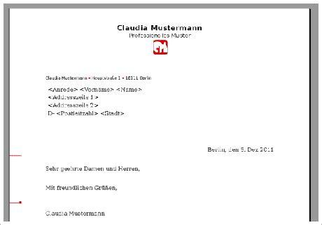 Brief Schreiben Muster Privat brief schreiben vorlage kostenlos f 252 r open office