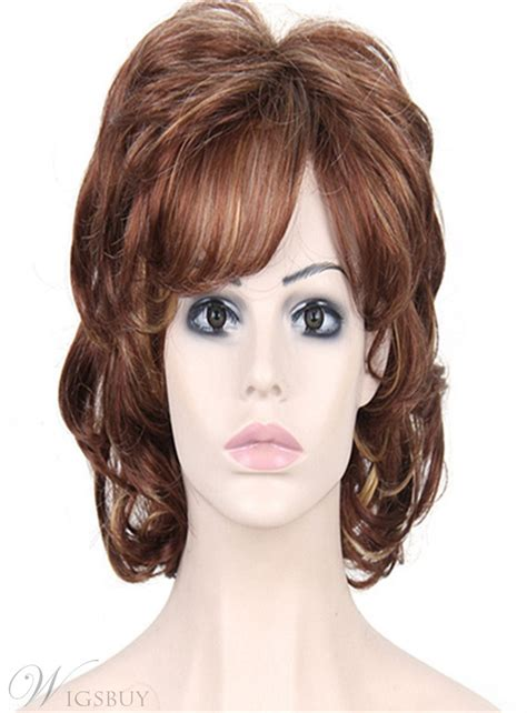 aisi short curly bob hairstyle layered synthetic hair