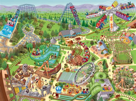 theme park zoning amusement parks uk map my blog