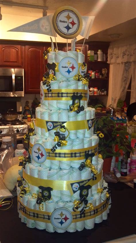 Steelers Baby Shower Ideas by Steelers Cake For My Brothers Baby Shower