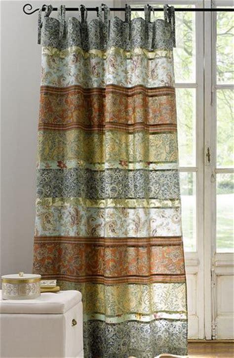 vorhangschals blickdicht 1 st gardine vorhang 140 x 245 bunt patchwork optik