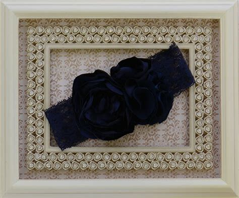 Headband Baby Flora Navy 6 baby labella flora navy headband save with our sale