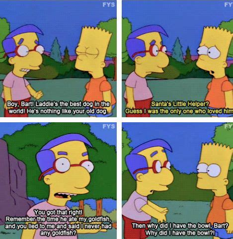 milhouse moments     laugh  time springfield springfield   hell