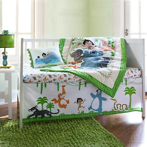 The Jungle Book Crib Bedding Set For Baby Disneybaby In Jungle Themed Nursery Bedding Sets