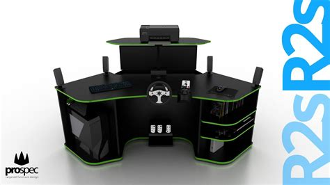 Paragon Gaming Desk Paragon Gaming Desk For Sale Paragon Gaming Desk