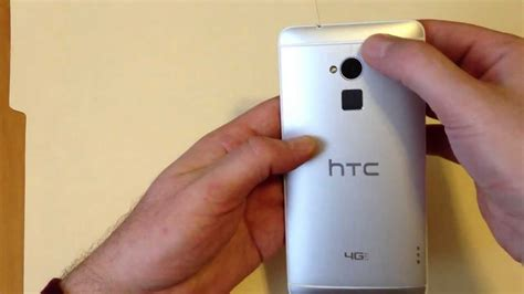 how to remove micro htc one max remove replace back plate cover install sim