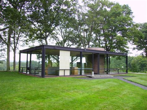 free home plans philip johnson glass house floor plans