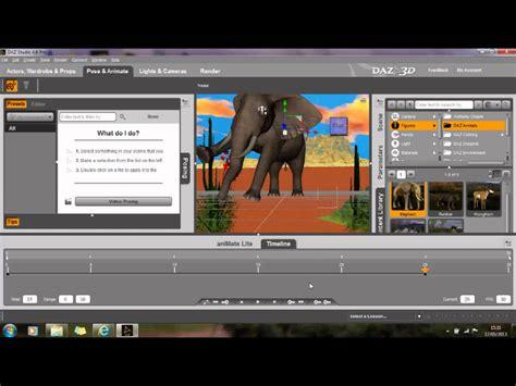 tutorial video making software daz studio 4 6 beginners guide tutorial demo quick easy