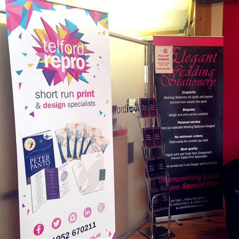 Wedding Pull Up Banner by Pull Up Banners Telford Reprographics Ltd