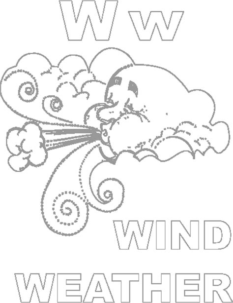 wind coloring pages for preschool the wind colouring pages