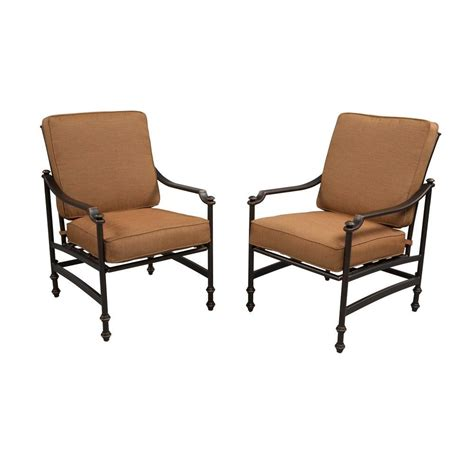 Patio Lounge Chairs With Cushions Hton Bay Niles Park Patio Lounge Chairs With Cashew
