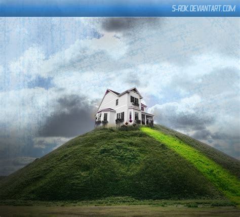 house on a hill house on the hill by s rok on deviantart