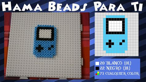lego gameboy tutorial game boy color tutorial hamabeads youtube