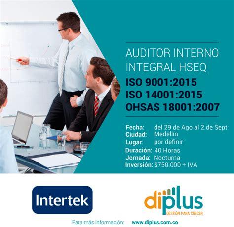 auditing interno auditor interno integral hseq diplus