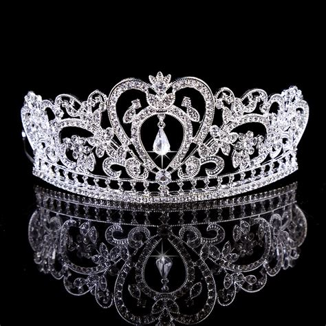 king crown design in hair cut vintage baroque big king queen pageant prom princess crown